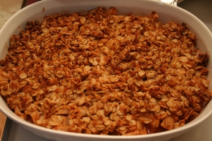 Recipe from Smitten Kitchen - Apple Crisp